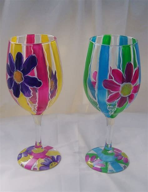 Decorating Glass Cups by 1000 Images About Glass Painting On