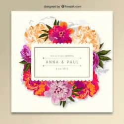 flower invitation template 40 free wedding invitation templates xdesigns