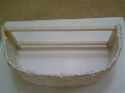 vanity light shade cover fabric covered polystyrene shade liner is attached to the