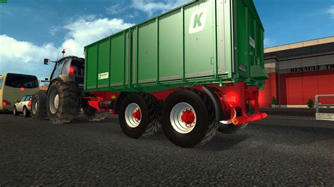 in trailer tractor and trailers in traffic mod truck simulator