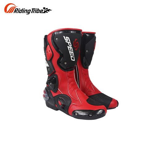 road bike boots pro biker speed bikers motorcycle boots racing