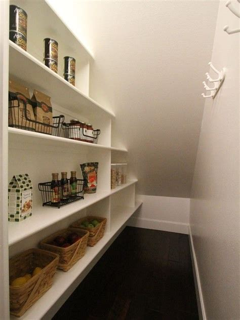 Stair Closet Organization Ideas by Stairs Pantry By Aloha Home Builders Closet