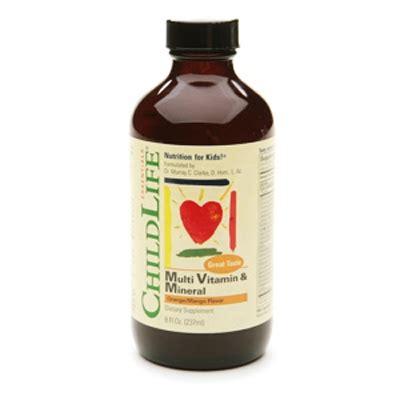 Childlife Multi Vitamin Mineral 237ml vitamin tổng hợp cho b 233 childlife 237ml multi vitamin
