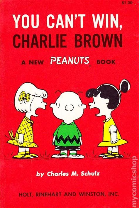 peanuts every sunday 1971 1975 books you can t win brown sc 1962 holt a new peanuts