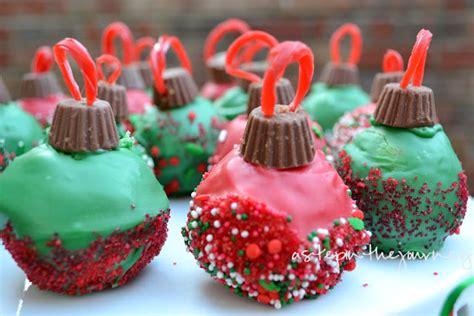 Christmas treats ornament cake balls cute pinpoint