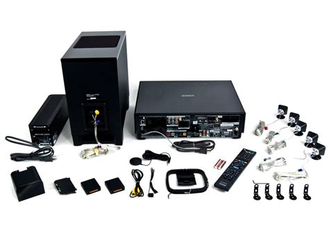 sony 5 1 home theater system w wireless surround