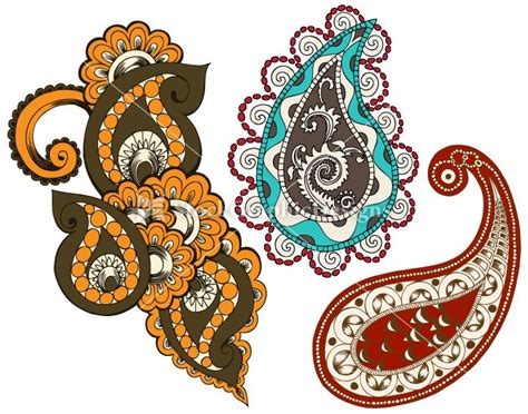 indian pattern pinterest indian paisley designs clip art vector s2 p3 paisley