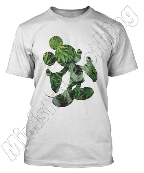 T Shirt Mickey Marijuana mickey mouse t shirt cannabis ymcmb disobey dope t shirt top mens new ebay