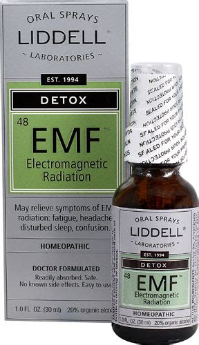Electromagnetic Detox by Liddell Homeopathic Detox Electromagnetic Emf Radiation 1