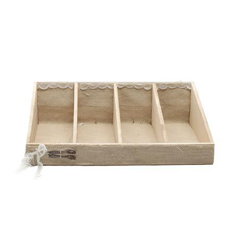 portaposate da cassetto in legno portaposate in legno con scomparti ebay