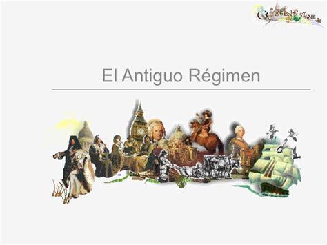 el antiguo regimen y antiguo regimen