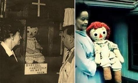 annabelle doll in et you can a livestream of the real annabelle doll
