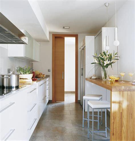 ideas cocinas estrechas buscar  google cocina en