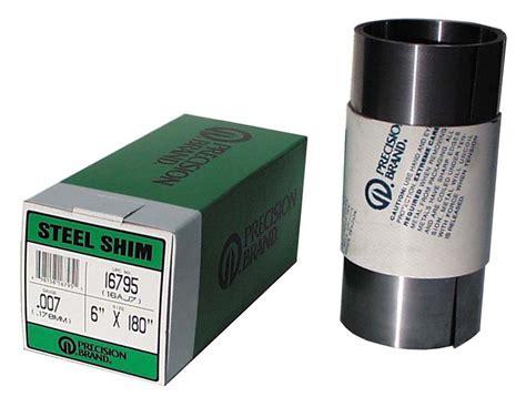 precision brand tool black 0 012 quot steel shim stock 12 quot x 120 quot roll precision brand