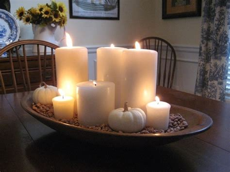 Candle Centerpieces For Dining Tables 104 Best Images About Dough Bowl Decor On Mercury Glass Autumn Centerpieces And