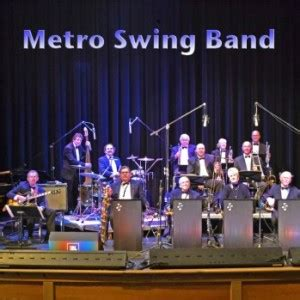 the swing band hire the metro swing band big band in sacramento california