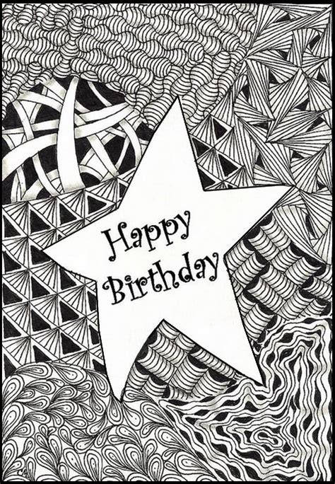 coloring pages for adults birthday coloriage happy birthday g 11 jpg 478 215 690 card making