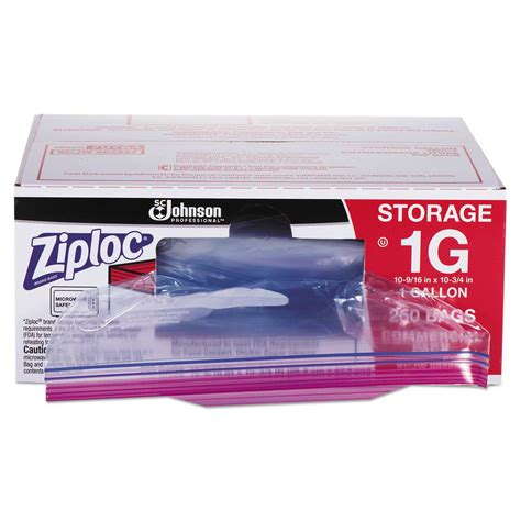 ziploc commercial foodservice storage bags 1 gal 1 75