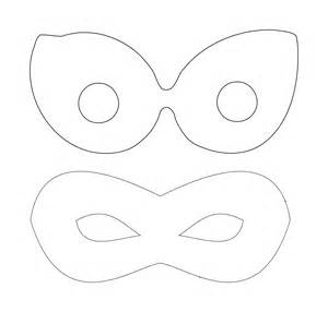 Villain Mask Template by Clipart Mask Template