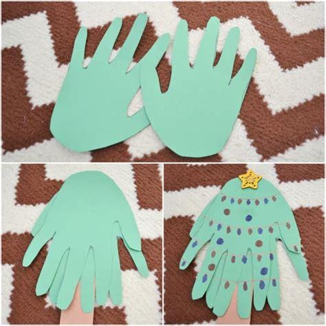 handprint tree craft handprint tree craft