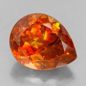 Ellow Orange Sphalerite 9 13ct sphalerite 19 7ct pear from mexico and untreated