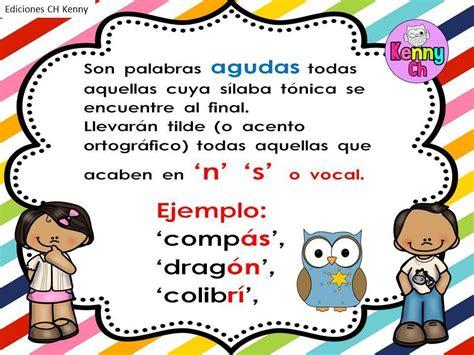 imagenes educativas reglas ortograficas reglas acentuaci 243 n ch color 3 imagenes educativas