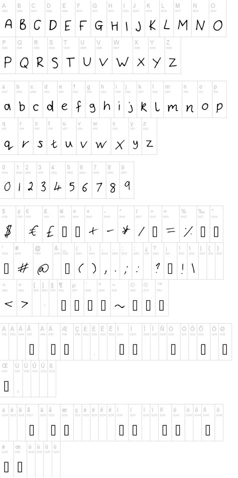 Dafont Thin Fonts | bryonys handwriting thin font dafont com