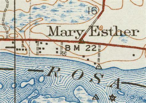 esther florida map map of esther 1938 florida