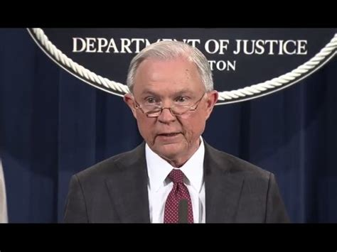 jeff sessions news conference jeff sessions press conference abc news youtube