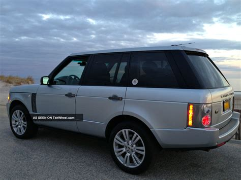 land rover 2007 2007 land rover range rover hse sport utility 4 door 4 4l