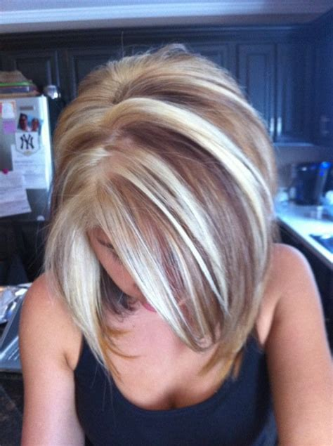 pics of lo lites in short white hair a full head of hi lites and lo lites to give depth to your