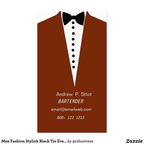 tuxedo card templates and business card template with s tuxedo and bow tie