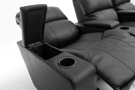home theatre recliner lounge sophie brand new leather 3 seater recliner home theater