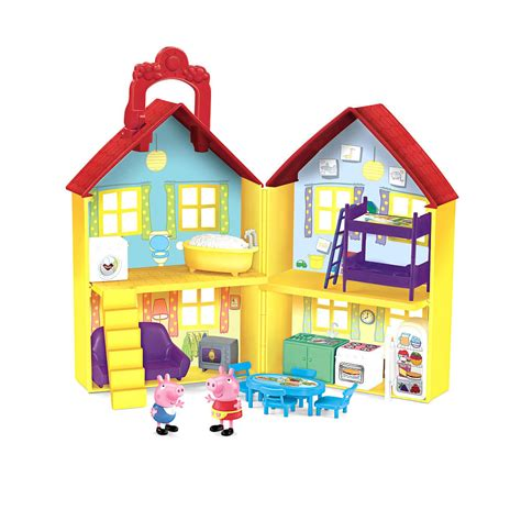 la casa de peppa pig juguetes peppa pig casa de juguete fisher price mimonino