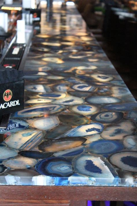 backlit agate bar countertop raise the bar
