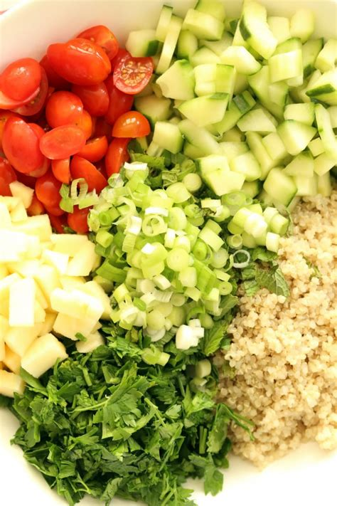 The Harvest Kitchen Crunchy Detox Salad by Crunchy Quinoa Tabbouleh Salad The Harvest Kitchen