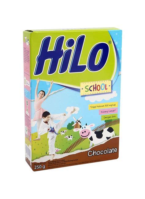 Hilo Untuk Diet Hilo School Bubuk Hi Calcium Chocolate Box 250g