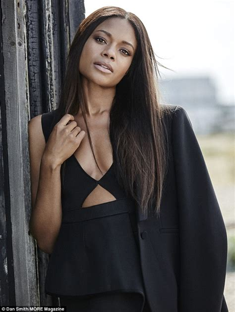 most beautiful black actresses under 30 naomie harris says she is proud to be the first black