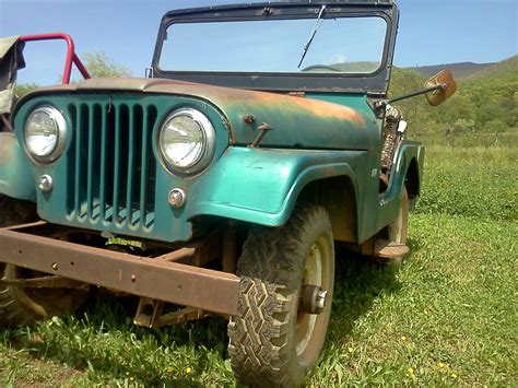 1961 willys jeep bonnie blue bringing a 1961 willys jeep back to