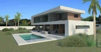 House Plans With Open Floor Plan Modern Turnkey Villas In Spain France Portugal