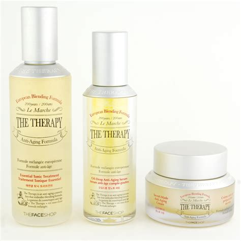 The Shop The Therapy Drop Anti Aging Serum thefaceshop the therapy essential tonic treatment