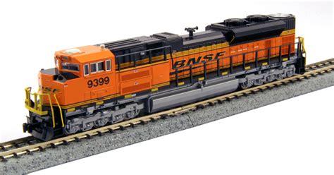 Lokomotif Kato N Scale Gec307 Burlingthon Magnetic Coupler N Scale Emd Sd70ace Precision Railroad Models