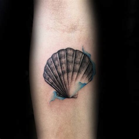seashell tattoo designs 80 seashell designs for oceanic ink ideas