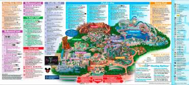mapa de disney california adventure conoce sus zonas