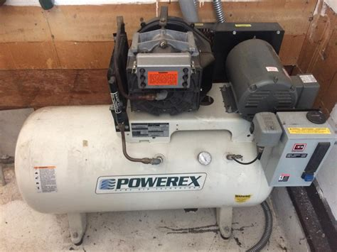 convert 3 phase air compressor to single phase powerex rotary scroll with baldor 5 hp