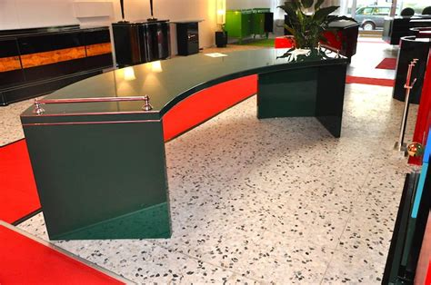 Deco Table Ls Racing Green Desk From The Deco Era At 1stdibs