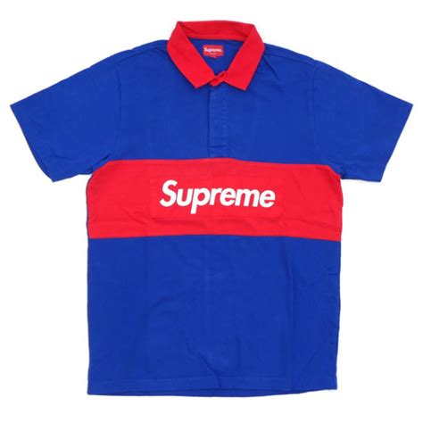 buy supreme new supreme rug box logo polo shirt buy supreme