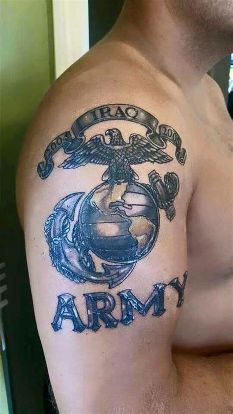 lebanese army logo tattoo design for shoulder
