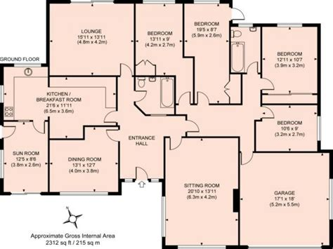 House Plans With 4 Bedrooms by 3d Bungalow House Plans 4 Bedroom 4 Bedroom Bungalow Floor