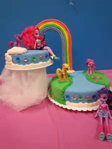 My Pony Equestria Cake Rainbow Rainbow Cake Equestria Theme Birthday Cake Pops And Cakes Themes